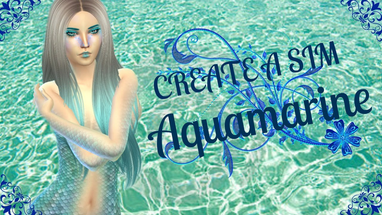 Create A Sim Aquamarine Sims 4 Youtube