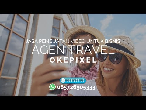 JASA VIDEO ANIMASI EXPLAINER UNTUK IKLAN PROMOSI MARKETING (AGEN TRAVEL)