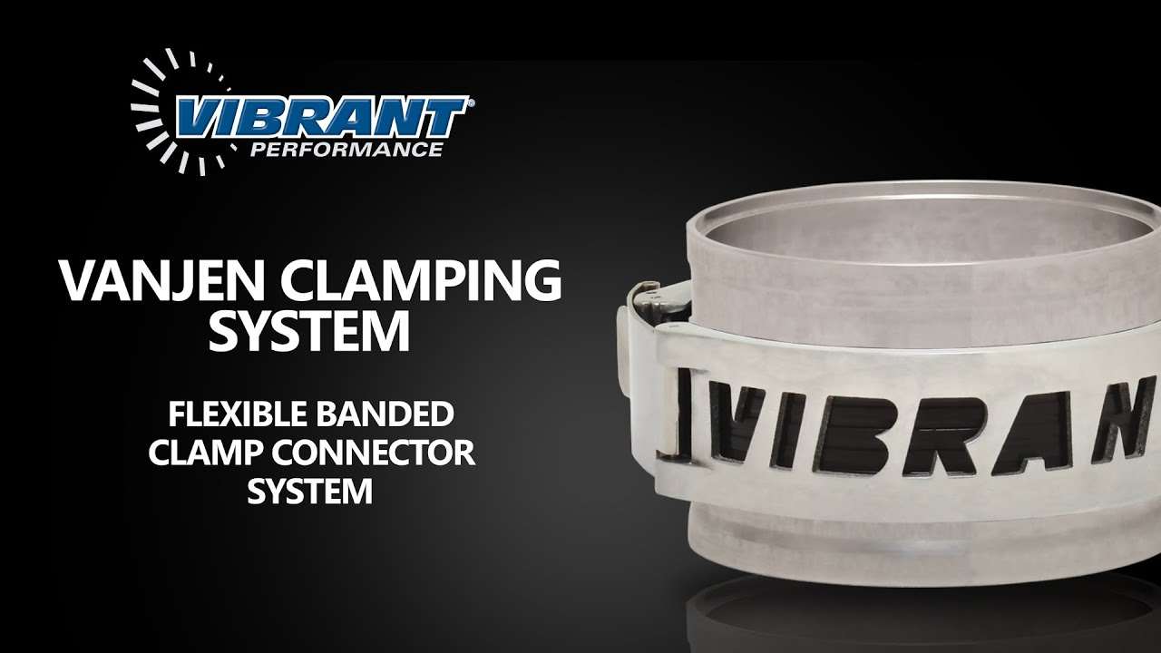 Vibrant Performance 12518 HD Clamp System Assembly