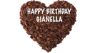 Gianella  Chocolate - Happy Birthday