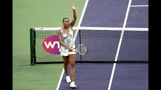 2018 Indian Wells Fourth Round   Venus Williams vs. Anastasija Sevastova   WTA Highlights