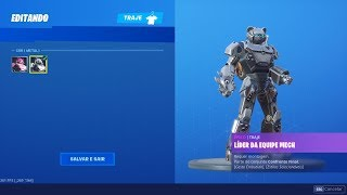 "THE SKIN ""MECH TEAM LEADER"" HAT EINEN NEUEN METAL STYLE! Fortnite"