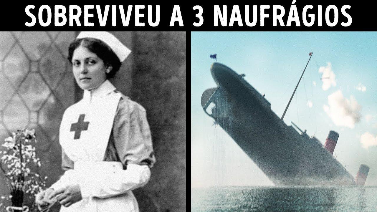 A Mulher que Escapou do Titanic, do Britannic e do Olympic