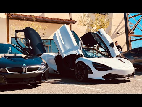 Insane McLaren 720s, Audi R8, And BMW I8! Substation Cars And Coffee El Paso, Texas 2019 [GIVEAWAY]