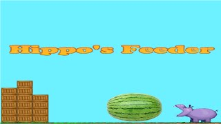 I throw watermelons in hippo's mouth - Hippo's Feeder(The main goal in this game : feed the hippos The main character is some guy with glasses. In short,this game is cool. арбуз ли арбузе арбуз +и дыня арбузы ..., 2016-07-16T21:21:45.000Z)