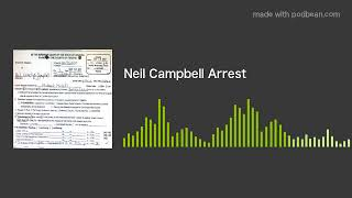 Neil Campbell Arrest