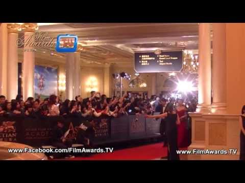 Red Carpet at The 9th Asian Film Awards 2015 in Macau