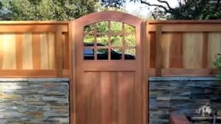 Wood Custom Gates