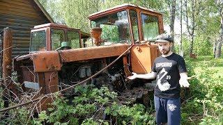 Оживляем трактор ДТ-75 спустя 20лет!