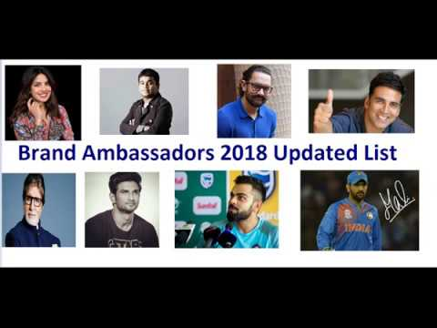Recently Appointed Brand Ambassadors List | BankExamsToday
