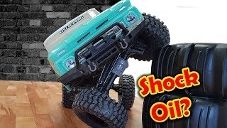 Video Traxxas Trx-4 Thinner Shock Oil Before VS After Epic Cheap Mod! RC CAR download MP3, 3GP, MP4, WEBM, AVI, FLV April 2018