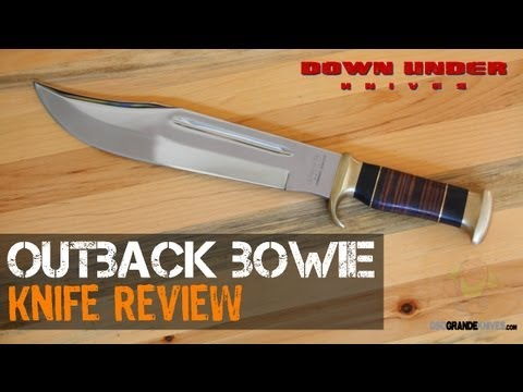 Down Under Knives Outback Bowie Review | OsoGrandeKnives