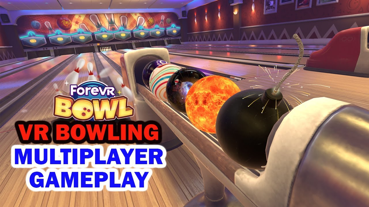 ForeVR Multiplayer Bowling Game Oculus Quest 2
