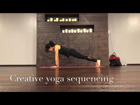 Creative yoga sequencing