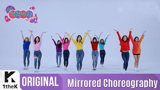 Gambar cover [Mirrored] Let's Dance(렛츠댄스): TWICE(트와이스)_'Heart Shaker' Choreography_1theK Dance Cover Contest