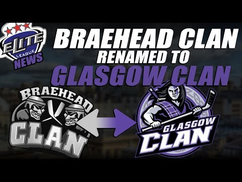 EIHL News - Braehead Clan Renamed to Glasgow Clan