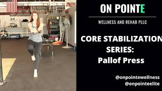 Core Stabilization Series: Pallof Press