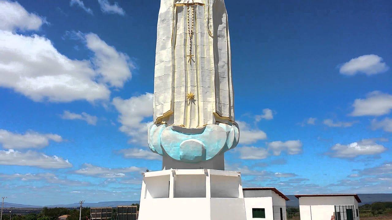 Nossa Senhora Aparecida Nossa Senhora De Fatima: Gigantesca Imagem De Nossa Senhora De Fátima Em Crato CE