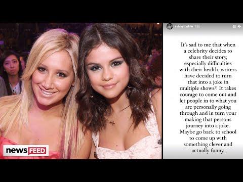 Ashley Tisdale DEFENDS Selena Gomez Amid Kidney Transplant Joke