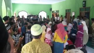 Kemeriyahan Maulid Nabi Muhammad SAW di Dsn Bibis Campurejo Sambit 2015