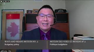 "MP Chiu speaks to Trudeau's ""failed"" budget"