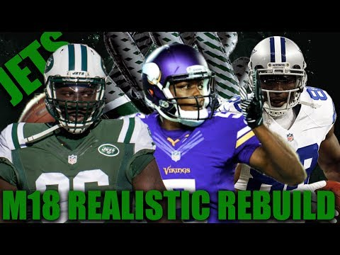Jets to the Super Bowl!? Realistic Rebuilding of The New York Jets | Madden 18 Franchise