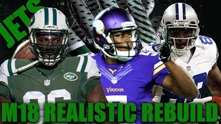 Jets to the Super Bowl!? Realistic Rebuilding of The New York Jets | Madden 18 Franchise 2017 Video