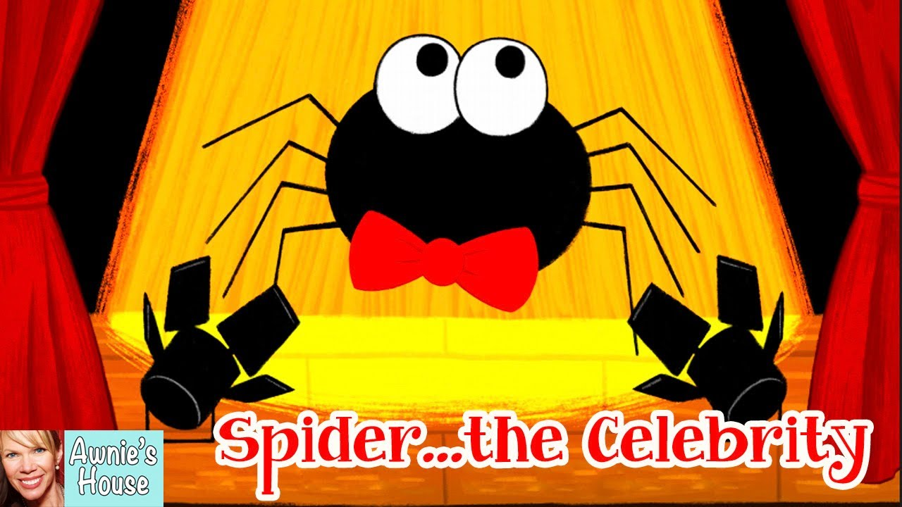 🕷️ Kids Book Read Aloud: SPIDER...THE CELEBRITY by S.D. Burke and Grace Ji