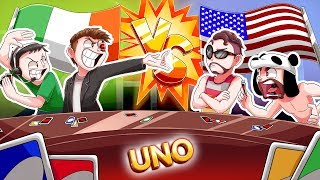 NOGLA AND TERRORISER, THE BEST UNO TEAM EVER! - UNO TEAM GAME FUNNY MOMENTS