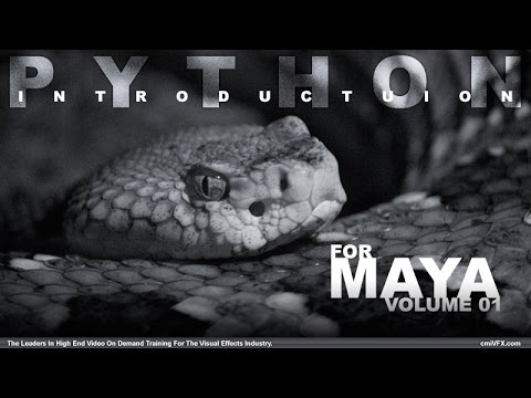 Python For Maya Artists - Volume 1