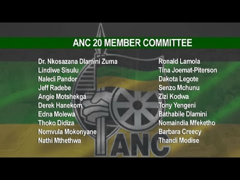 ANC NEC concludes NWC election