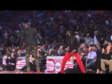 Tim Hardaway and Dion Waiters amazing back and forth Rising Stars Challenge