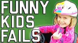 BEST KID FAILS COMPILATION #1 l Подбока смешных и милых моментов с детьми l FUNNY KIDS FAILS