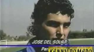 'Chemo' Del Solar hablando como chileno (1990)