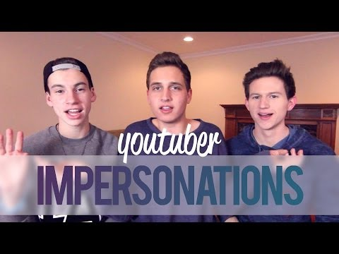 YOUTUBER IMPERSONATIONS (w/ Jack & Ricky!)