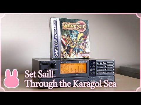 Golden Sun Restored OST - Set Sail! Through the Karagol Sea | Cyanne