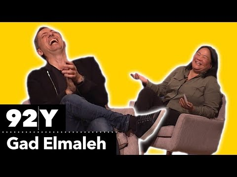 Gad Elmaleh's First Time Doing Comedy In English