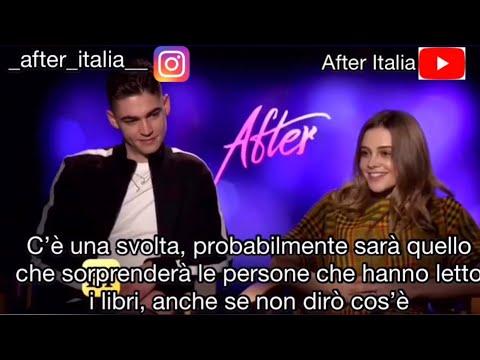 Traduzione Intervista Cast Di AFTER, Anna Todd, Jenny Gage
