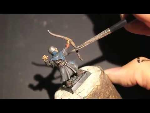 How to Paint Bretonnian Bowman   House Greyjoy - Part 2 of 2