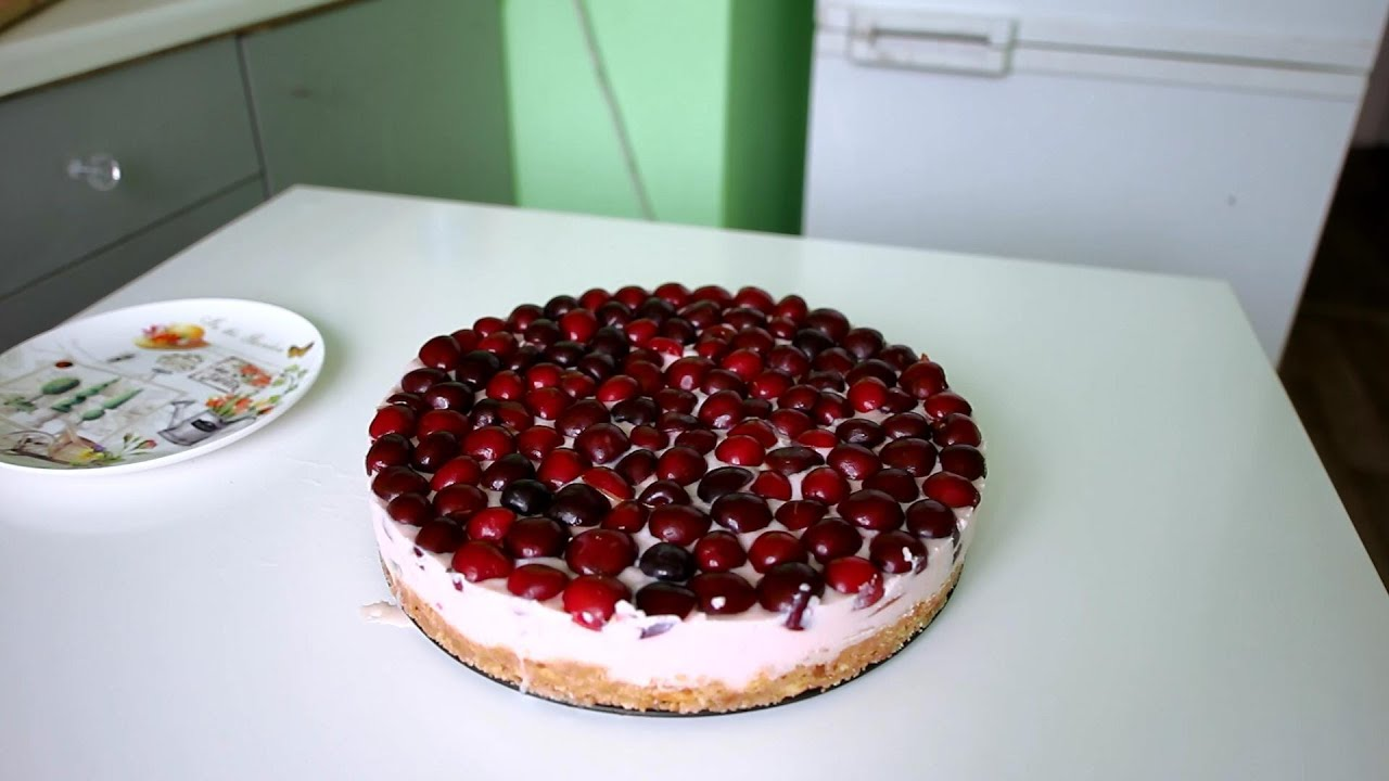 фруктовый торт без выпечки рецепт с фото