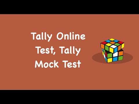 Tally Online Test, Tally Mock Test (Step by Step Guide)