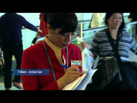 "Cathay Pacific ""A Day in The Life of an Airport Staff"""