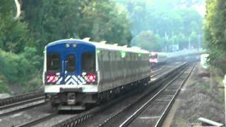 Metro-North Action at Williambridge! With a bit of Whistles~ [HD]