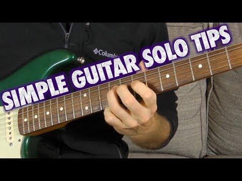 Simple Guitar Solo Arpeggio Tips