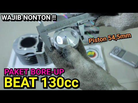 UNBOXING !! Blok Bore-up Beat 54,5mm 130cc Cocok Untuk Roadrace & Korek Harian Touring #23racingshop