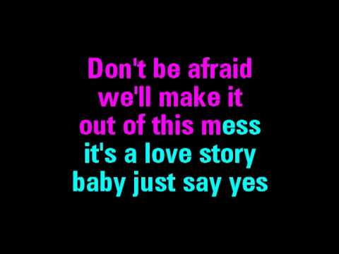 Love Story Taylor Swift Karaoke - You Sing The Hits