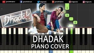 Dhadak Song l Piano Cover Chords Instrumental By Ganesh Kini