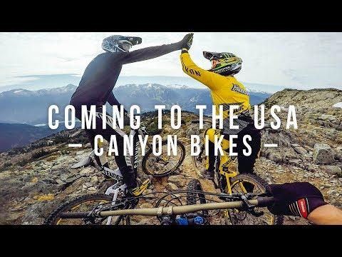 Coming to the USA - Canyon Bikes