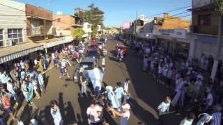 Mundial 2014, festejos en la ciudad de Puerto Rico Misiones 21-06-14