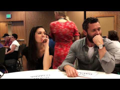 Man In The High Castle  Actors Alexa Davalos and Jason O'Mara  SDCC 2018
